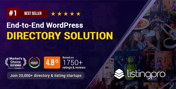 ListingProWP - End-to-End WordPress Directory Theme