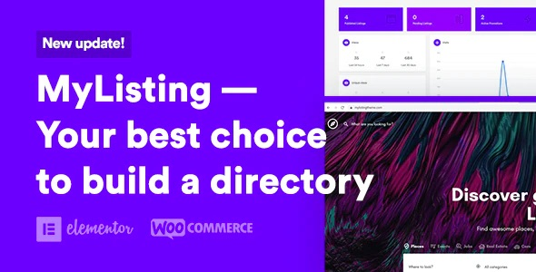 MyListing - Your best choice to build a directory